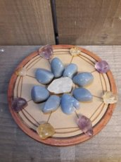 Wood Crystal Grid Home Blessing - zegening thuis